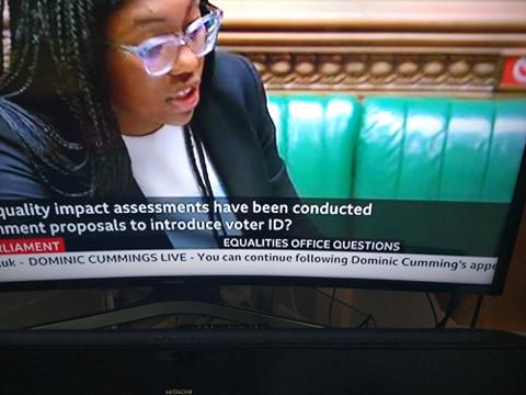 BBC Cumming apostrophe
